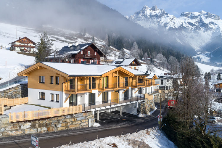 Vakantiehuizen Oostenrijk | Salzburg | Appartement te huur in Werfenweng   met wifi 10 personen