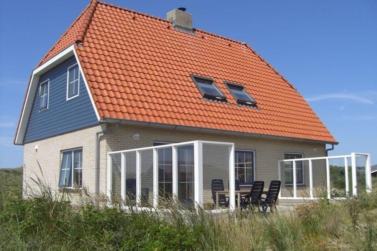 Vakantiewoning  met wifi  Vlieland  Luxe vakantehuis in de Duinen op slecht 100 meter van het strand van Vlieland