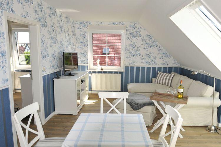 Appartement  met wifi  Börgerende  Blütenmeer dicht am Strand