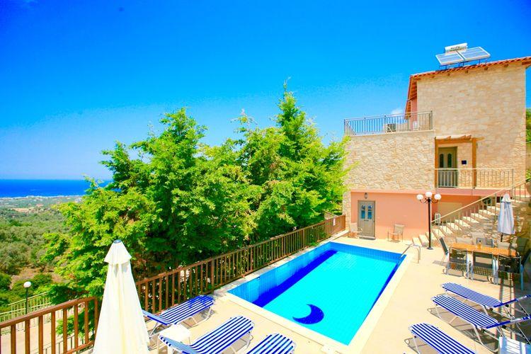 Villa met zwembad met wifi  MaroulasVilla Fengari
