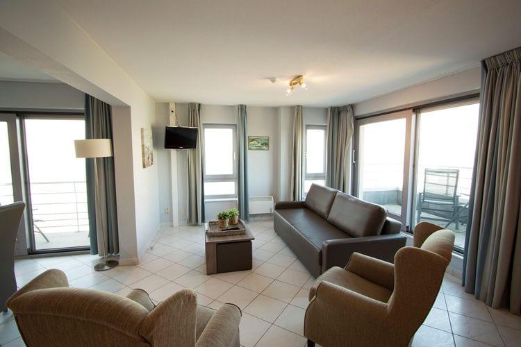 Vakantiehuizen Belgie | West-Vlaanderen | Appartement te huur in Blankenberge   met wifi 6 personen