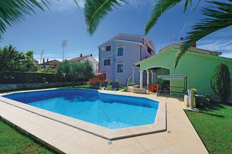 Appartement huren in  Kroatie - met zwembad  met wifi met zwembad voor 4 personen
