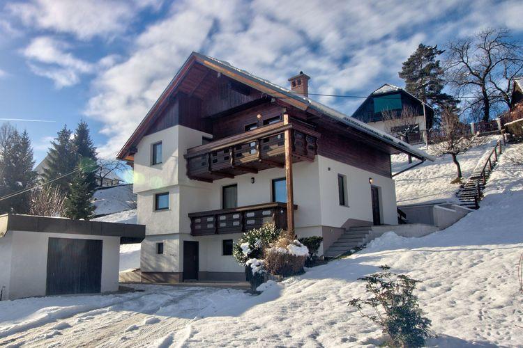 Bled Vakantiewoningen te huur Prachtig uitzicht over de Karavanke Alpen en de hogere Sava-vallei