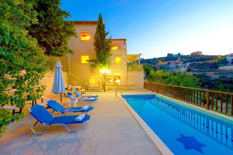 Villa met zwembad met wifi  MaroulasVilla Star