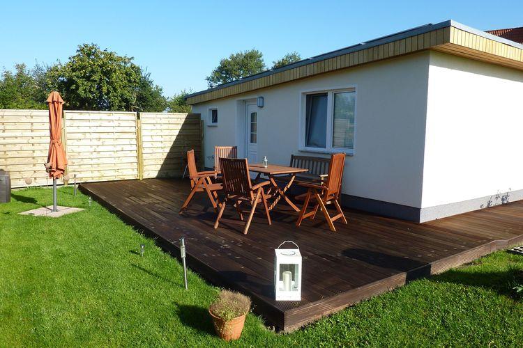 Vakantiehuis  met wifi  Rostock-Diedrichshagen  Ferienhaus Finn mit Terrasse