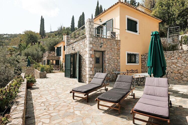 Vakantiehuizen Griekenland | Peloponnesos | Villa te huur in Pera-Melana   met wifi 10 personen