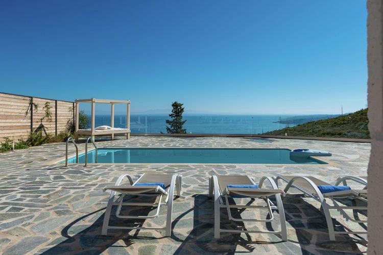 Griekenland Vakantiewoningen te huur Mooie luxe villa, privé zwembad, panoramisch zicht op de Ionische Zee, Zakynthos