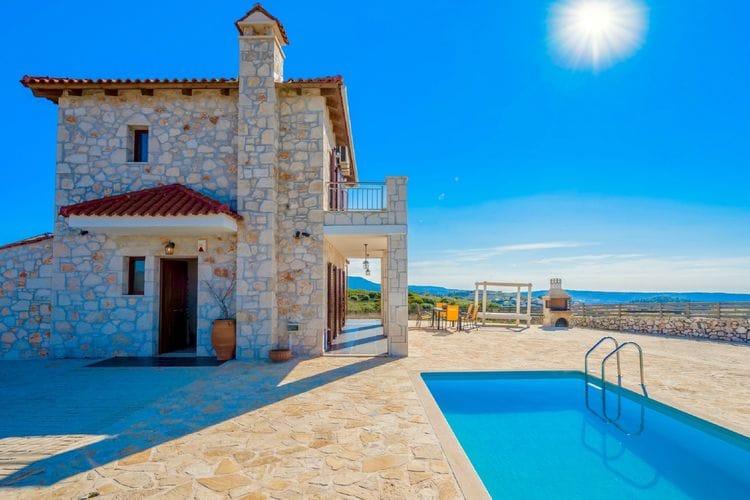 Villa met zwembad met wifi  Volimes  Villa Traditional I