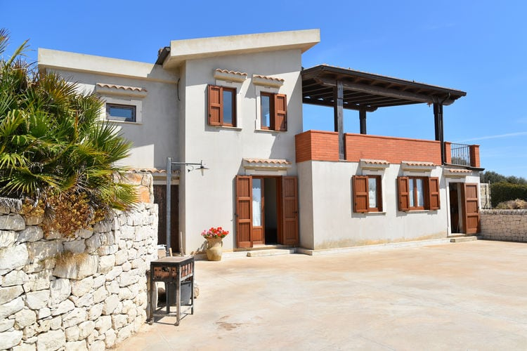 Italie / Sicilia | Villa  met wifi  - Cava D