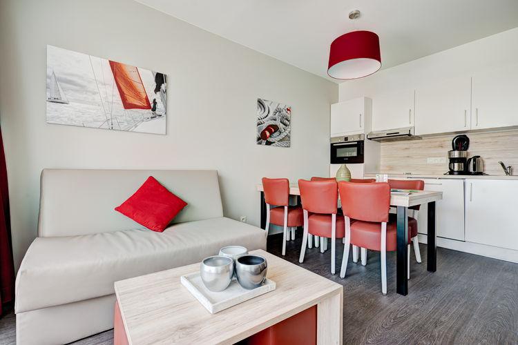 Appartement België, West Vlaanderen, Zeebrugge Appartement BE-8380-09