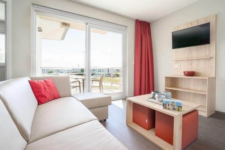 Vakantiehuizen Belgie | West-Vlaanderen | Appartement te huur in Zeebrugge met zwembad  met wifi 6 personen