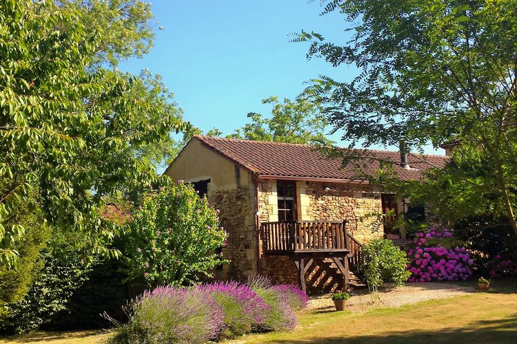 Vakantiehuis  met wifi  Frayssinet-le-GelatMaison avec grand jardin
