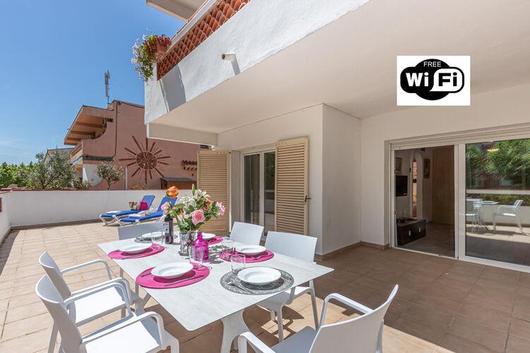 Vakantiehuizen Spanje | Costa-Brava | Appartement te huur in Empuriabrava   met wifi 5 personen