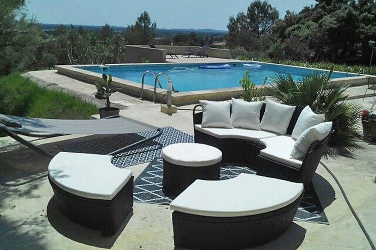 Ferienhaus Villa View Rhône (2362553), Aramon, Gard Binnenland, Languedoc-Roussillon, Frankreich, Bild 4