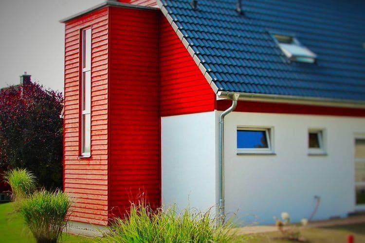Vakantiehuis  met wifi  Börgerende-Rethwisch  Ferrienhaus Backbord und Steuerbord mit Garten und Terrasse