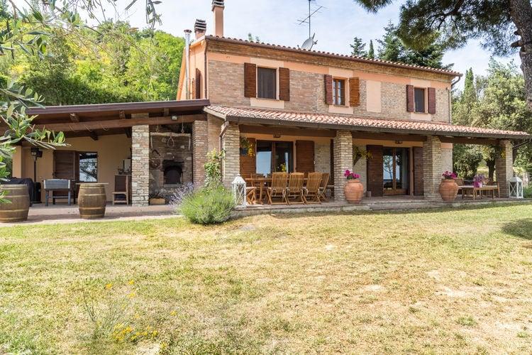 Vakantiehuizen Italie | Marche | Villa te huur in Montefelcino met zwembad  met wifi 8 personen