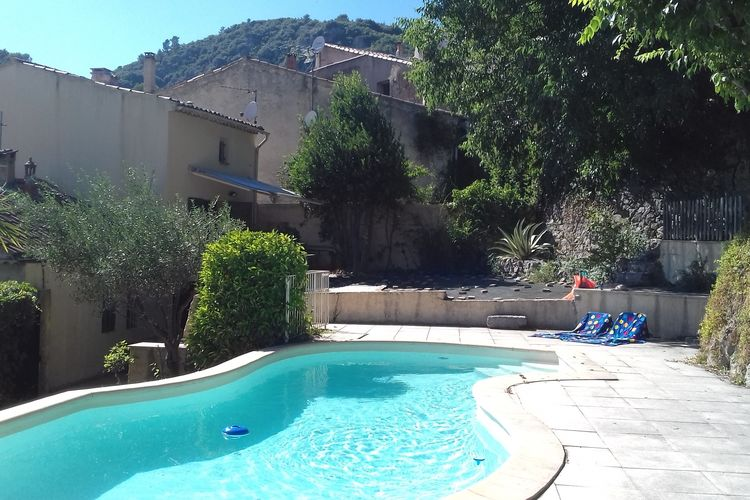 Meounes-les-Montrieux Vakantiewoningen te huur Pool & View Village Villa