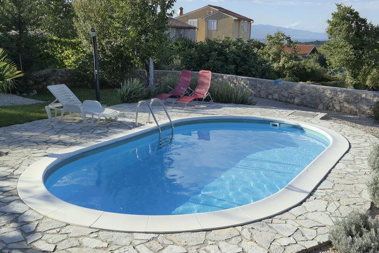 vakantiehuis Kroatië, eld, Krk vakantiehuis HR-00009-33