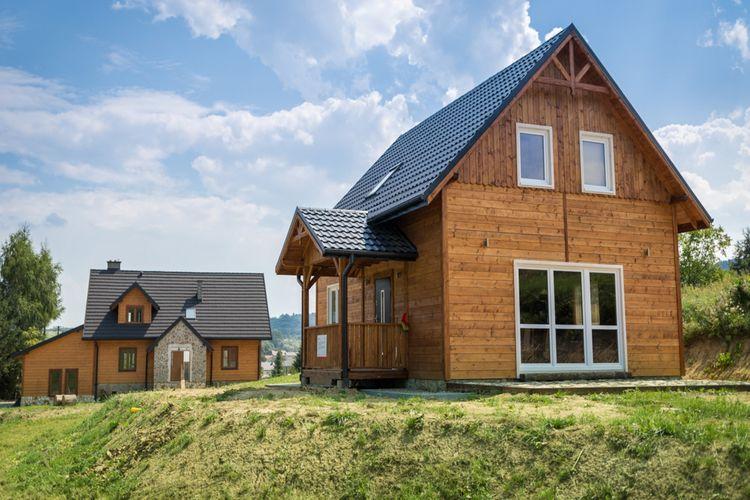 Polen Chalets te huur Gezellige  cottage met een open haard in de buurt van  kuuroord Rymanow Zdroj