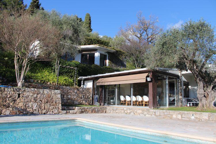 Airconditioned villa met guesthouse, zwembad en ongekend mooi uitzicht op Cannes