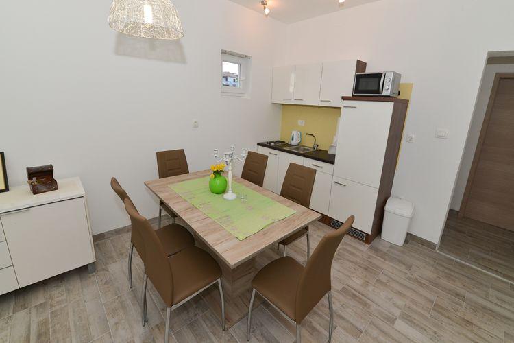 Appartement Kroatië, Dalmatie, Zadar Appartement HR-23248-02