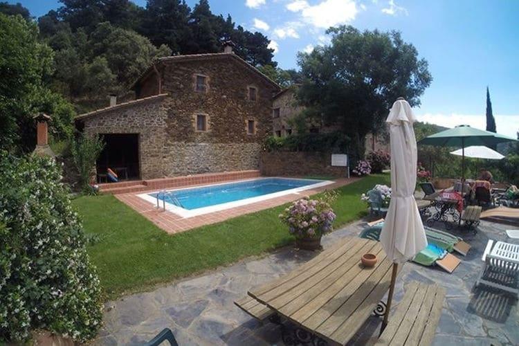 Vakantiehuizen Costa de Barcelona te huur Montseny- ES-08469-03 met zwembad  met wifi te huur