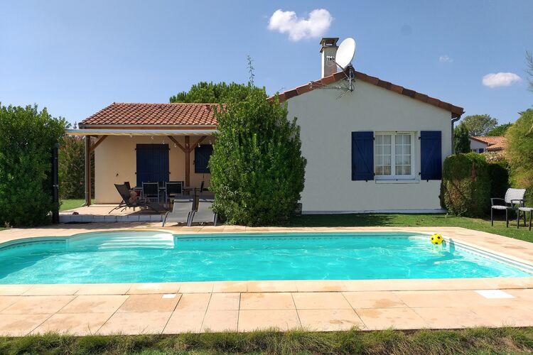 Vakantiehuizen Frankrijk | Cote-Atlantique | Villa te huur in Les-Forges met zwembad  met wifi 6 personen