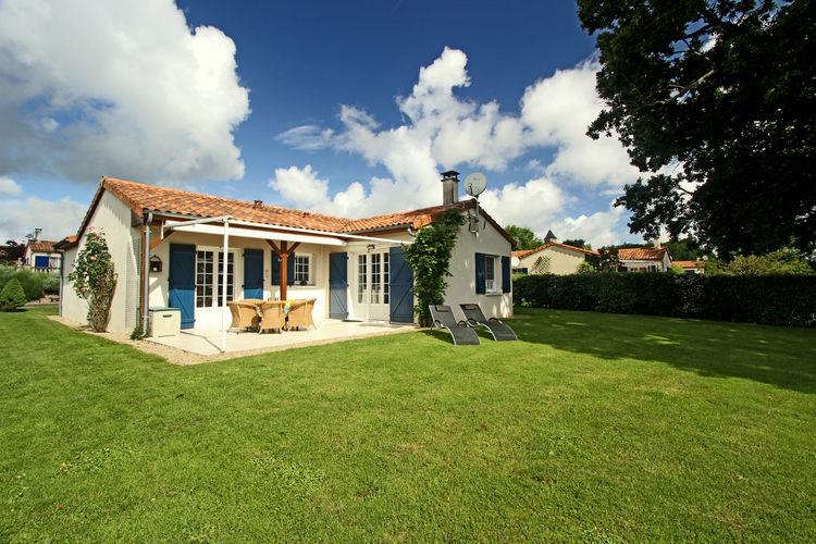 Frankrijk | Cote-Atlantique | Villa te huur in Les-Forges met zwembad  met wifi 8 personen