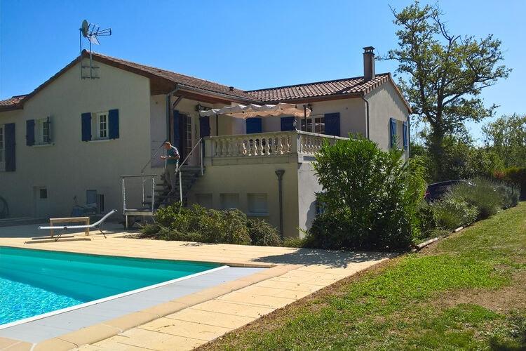 Vakantiehuizen Frankrijk | Cote-Atlantique | Villa te huur in Les-Forges met zwembad  met wifi 8 personen