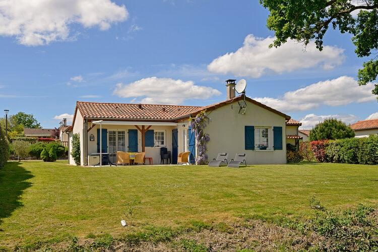 Vakantiehuizen Frankrijk | Cote-Atlantique | Villa te huur in Les-Forges   met wifi 4 personen
