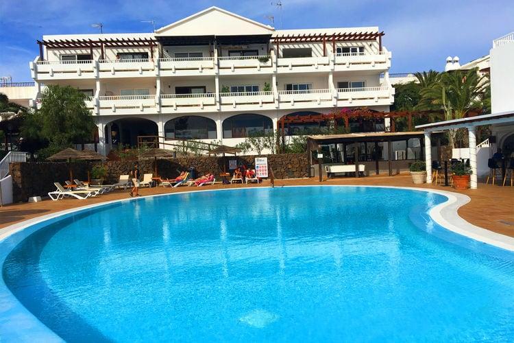 Vakantiehuizen Spanje | Lnzt | Appartement te huur in Costa-Teguise met zwembad  met wifi 4 personen