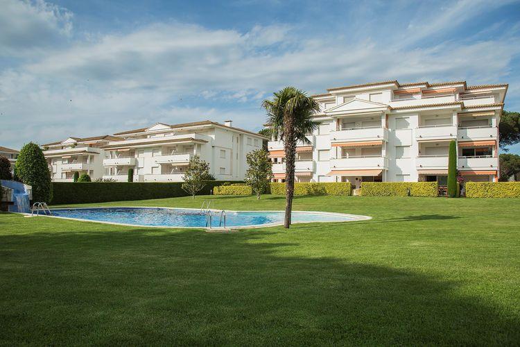 Appartementen Spanje | Costa-Brava | Appartement te huur in Pals met zwembad  met wifi 6 personen