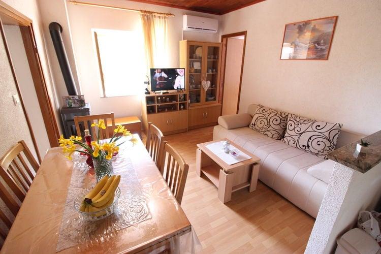 vakantiehuis Kroatië, Dalmatie, Tribanj vakantiehuis HR-23245-03