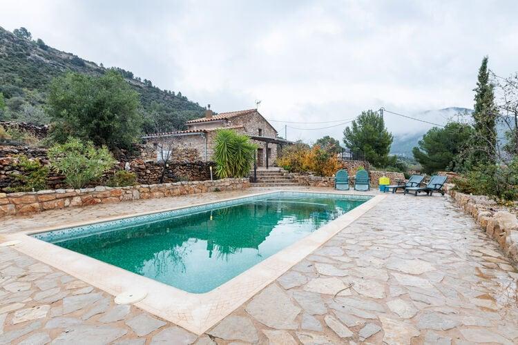 Vakantiehuizen Spanje | Valencia | Boerderij te huur in Adzaneta met zwembad  met wifi 4 personen