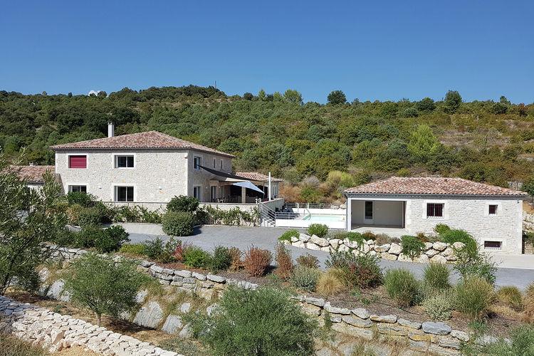 Villa met zwembad met wifi  Saint-Ambroix  Villa met zwembad en gastenverblijf in schitterende omgeving Saint-Ambroix