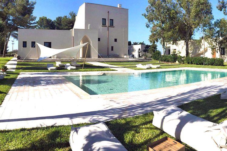 Vakantiehuizen Italie | Puglia | Villa te huur in Gallipoli met zwembad  met wifi 18 personen
