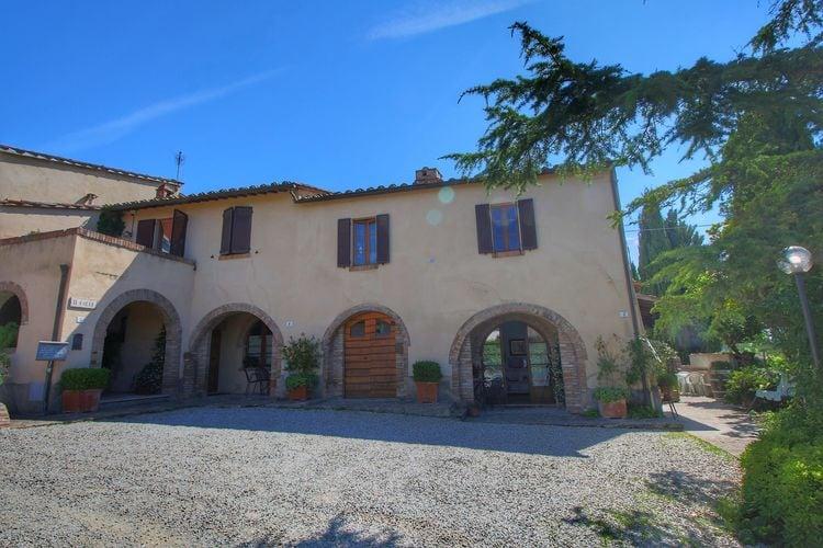 2-persoons vakantiewoning midden in Toscane met prachtig uitzicht