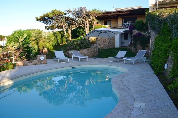 Italie | Sardegna | Villa te huur in Porto-Cervo met zwembad  met wifi 8 personen