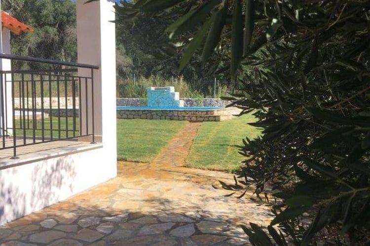 Griekenland | Corfu | Villa te huur in Afionas met zwembad  met wifi 6 personen