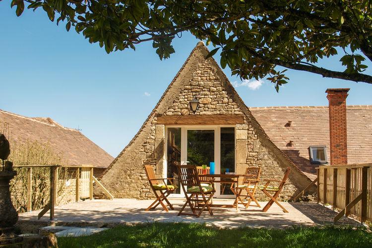 Vakantiehuis met zwembad met wifi  Peyzac-le-MoustierLa Cipière - L