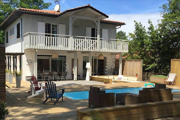 Villa met zwembad met wifi  Cote AtlantiqueVilla Cap Ferret 50m de la mer