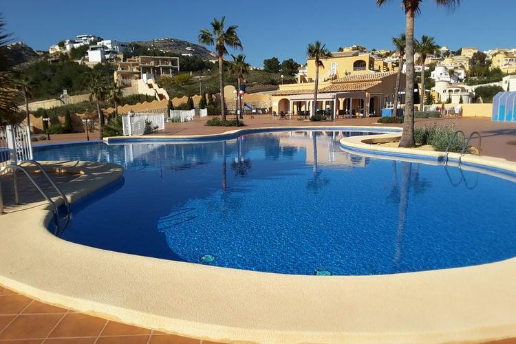 Appartement met zwembad met wifi  Costa BlancaCasa Mirasol