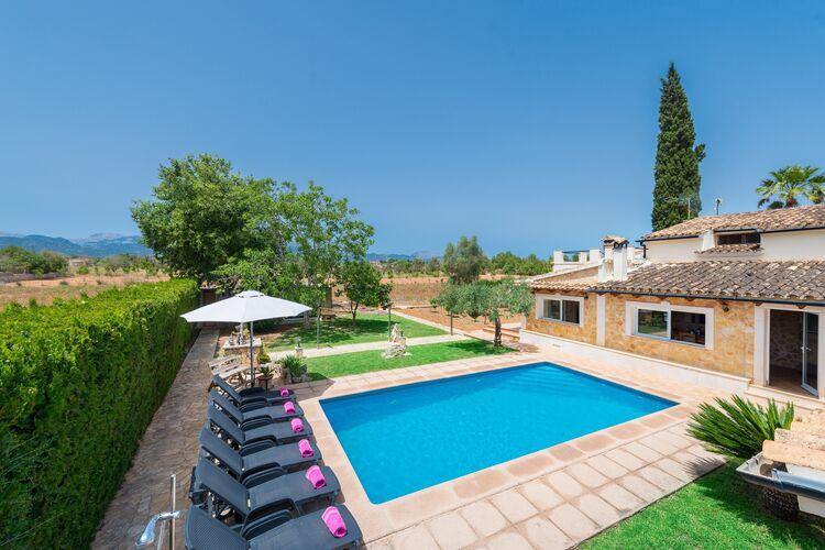 Vakantiehuizen Inca-Illes-Balears te huur Inca,-Illes-Balears- ES-00012-04 met zwembad  met wifi te huur