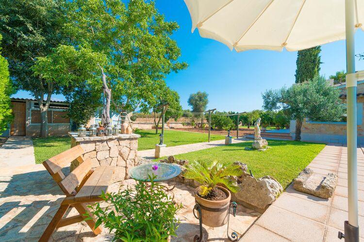Vakantiehuizen Spanje | Mallorca | Villa te huur in Inca-Illes-Balears met zwembad  met wifi 6 personen