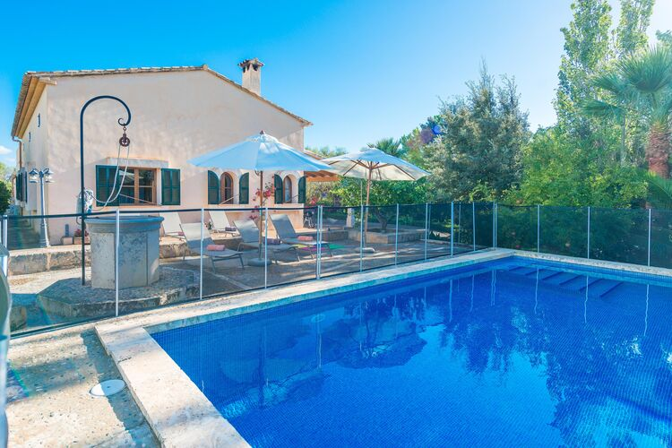 Vakantiehuizen Manacor-Illes-Balears te huur Manacor,-Illes-Balears- ES-00012-23 met zwembad  met wifi te huur
