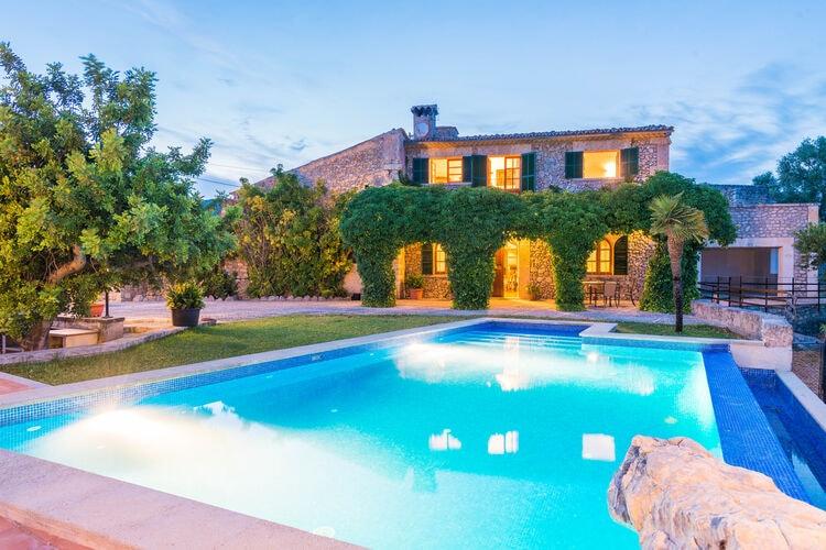 Vakantiehuizen Spanje | Mallorca | Villa te huur in Moscari-Illes-Balears met zwembad  met wifi 7 personen