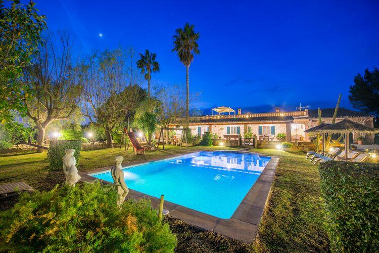 Vakantiehuizen Spanje | Mallorca | Villa te huur in Inca-Illes-Balears met zwembad   5 personen