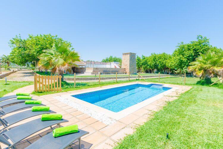 Vakantiehuizen Spanje | Mallorca | Villa te huur in Muro-Illes-Balears met zwembad  met wifi 6 personen