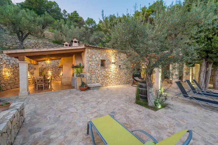 Villa Spanje, Mallorca, Mancor De La Vall, Illes Balears Villa ES-00012-29