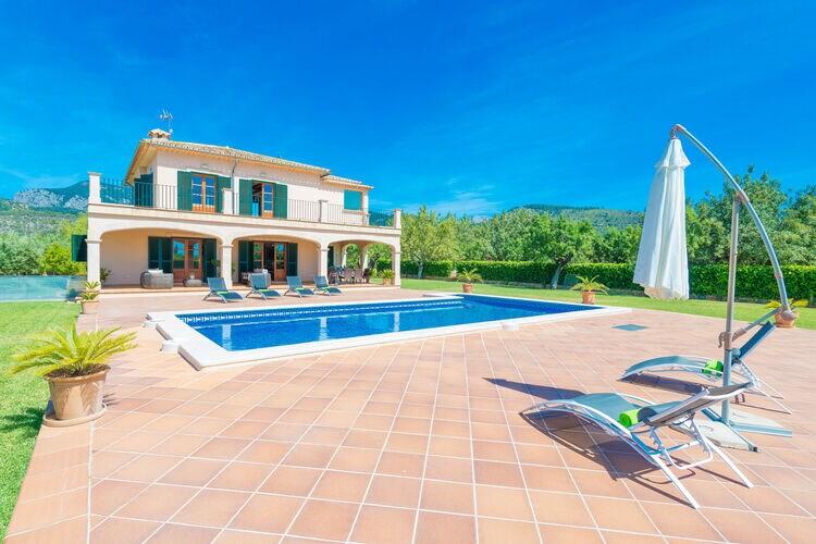 Vakantiehuizen Binissalem-Illes-Balears te huur Binissalem,-Illes-Balears- ES-00012-30 met zwembad  met wifi te huur